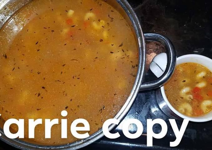 Cicis copycat cavatapi soup