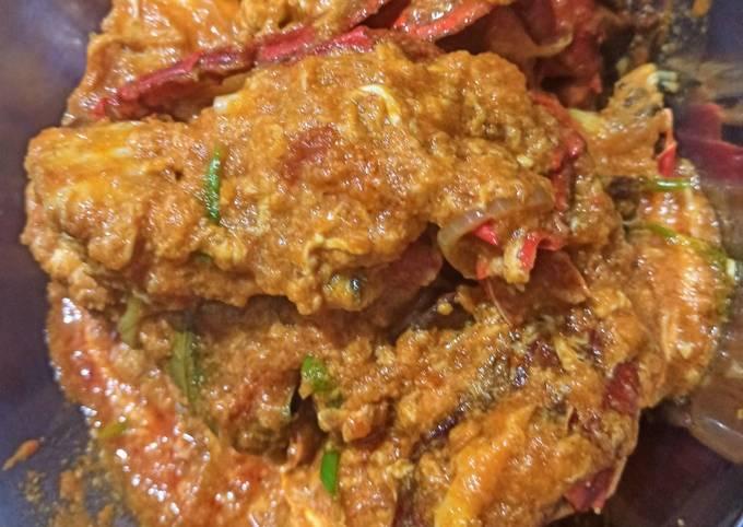 Resep Kepiting Saos Padang yang Enak