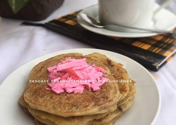Pancake Banana/Tamblag Cau #kamismanis