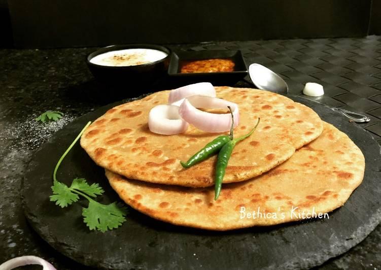 Steps to Make Ultimate Suran Paratha (Elephant Yam Flat Bread)