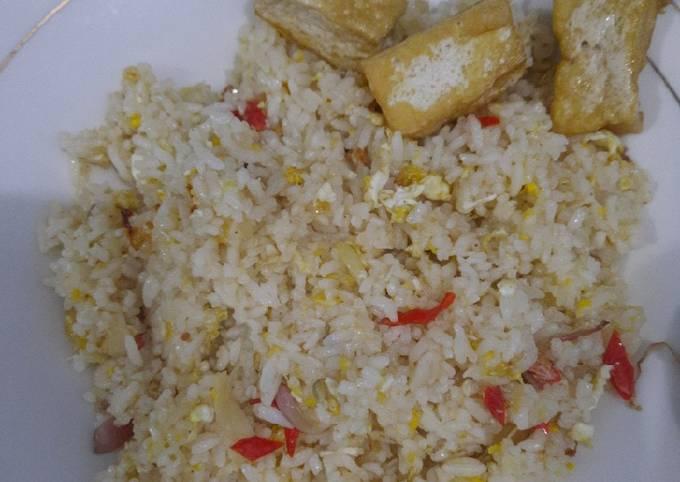 Nasi goreng kampung lezat