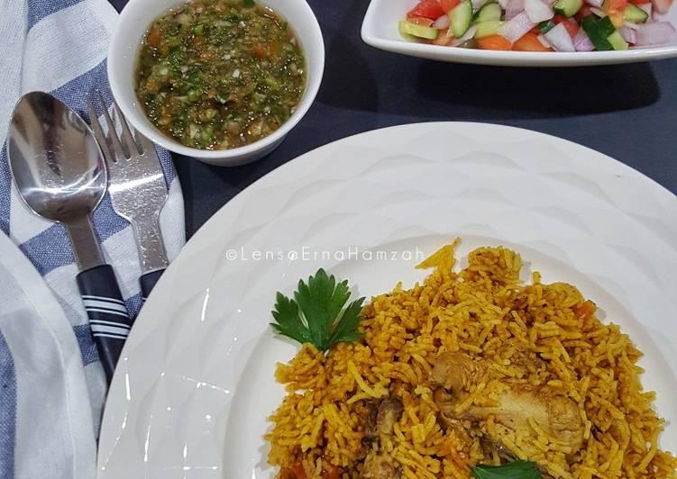 Nasi Kabsah Ayam