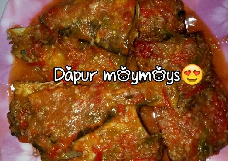 Pecak bandeng🐟 & Tempe sambal bawang wong serang