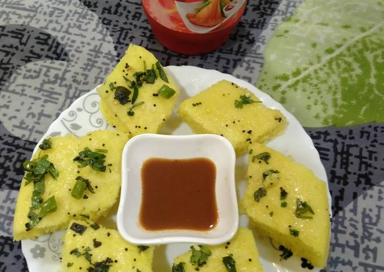 How to Make Super Quick Homemade Khaman dhokla healthy breakfast