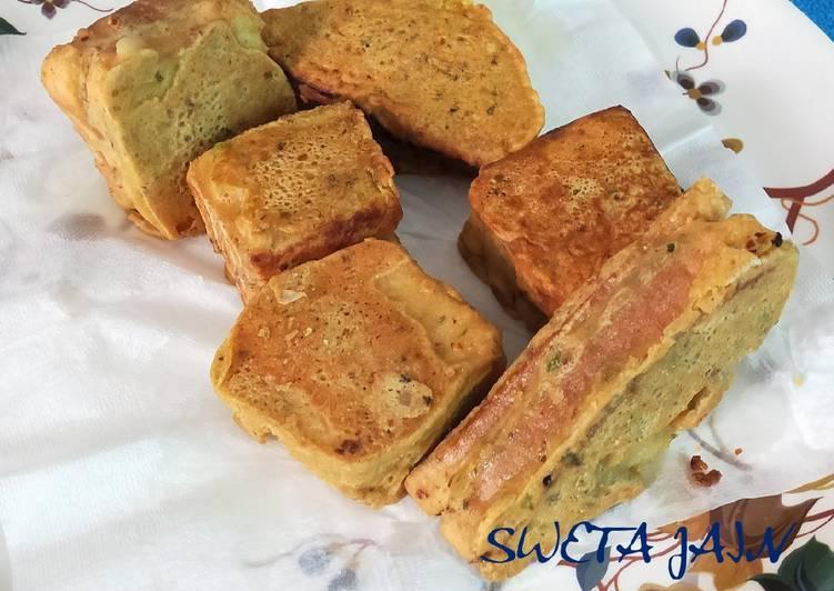 Foods That Can Make Your Mood Better Mini Sandwich Pakoda(no deep fry)