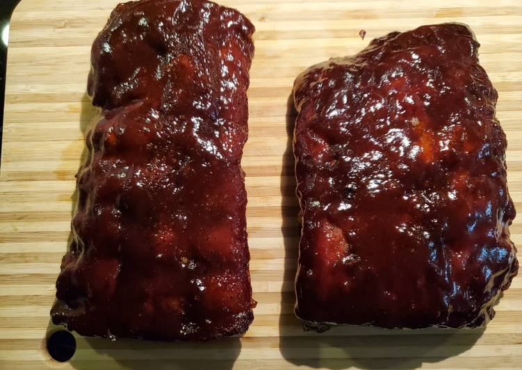 Sunday Favorite BBQ Baby Back Ribs
