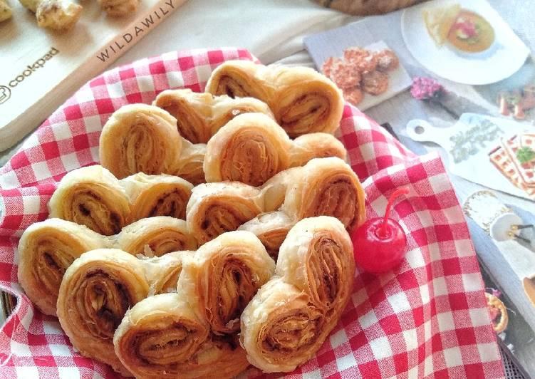 Resep Palmier Cookies / Genji Pie Monde Paling dicari