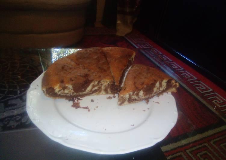 Le moyen le plus simple de Préparer Délicieuse Cake marbré extra moelleux