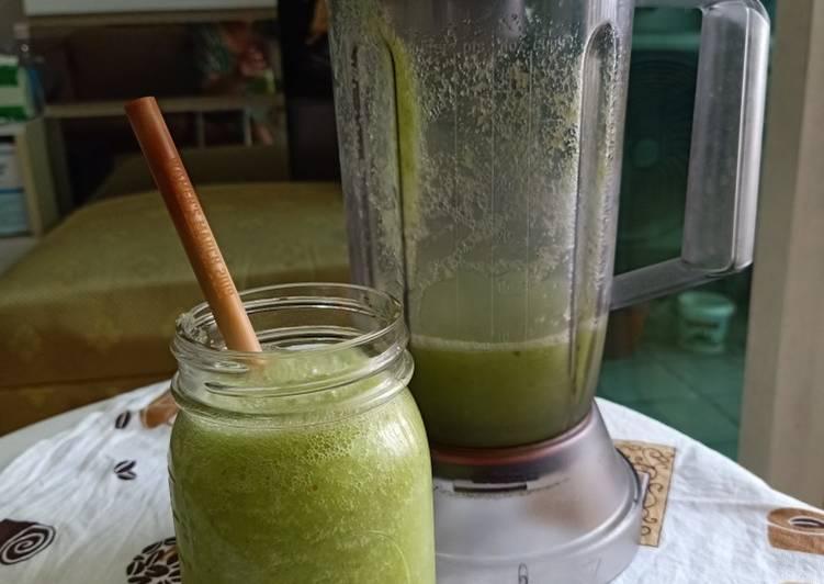 Juice Apel Saledri
