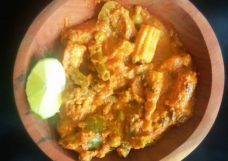 Mix vegetables curry, Coconut Oil Is A Great Product And Can In Addition Be Advantageous For Your Health