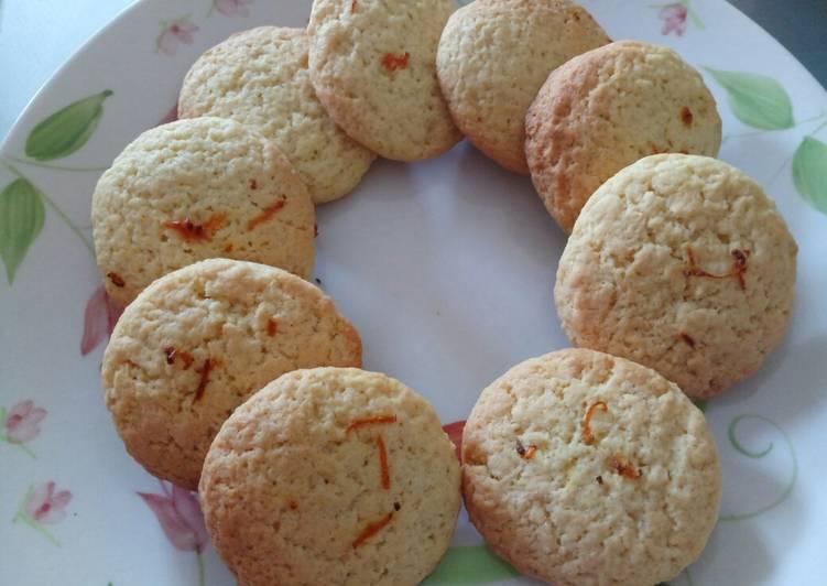 Orange flower water cookies