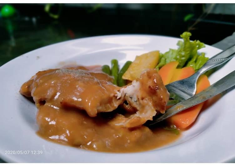 Kuah Chicken Steak ala WS