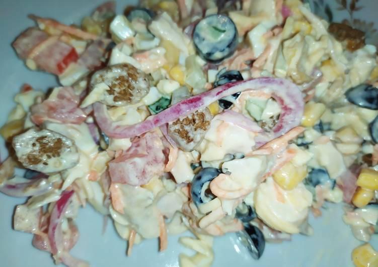 салат колокольчик рецепт с фото пошагово в кошку голубого