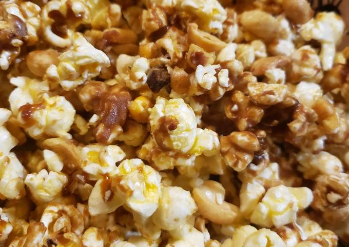 How to Make Tasty Homemade caramel popcorn