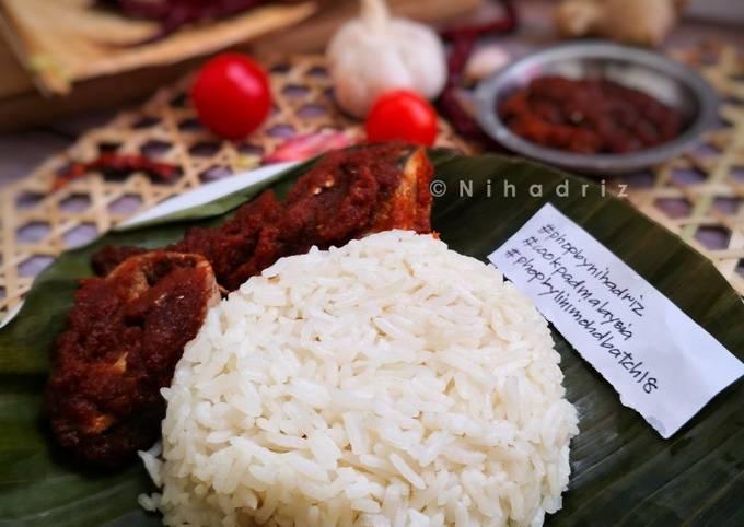 Nasi Lemak Halba Rendah Kalori #phopbylinimohd #batch18