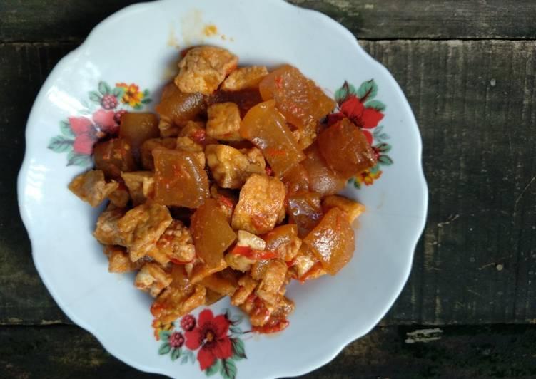 Resep Balado Cecek Tahu Oleh Novita Widyasari Cookpad