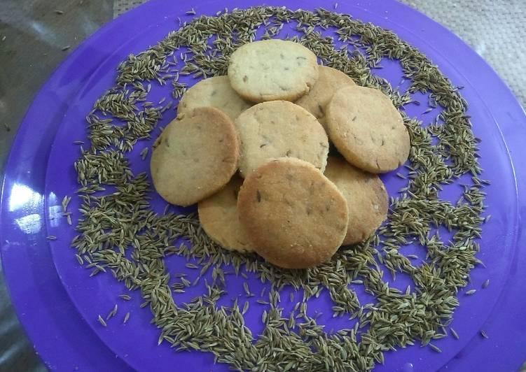 Recipe of Perfect Zeera biscuits