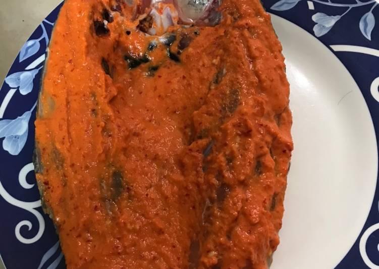 Ikan bakar bandeng cabe