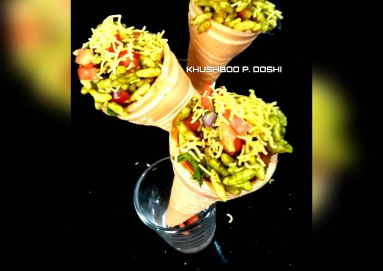 Softy cone bhel