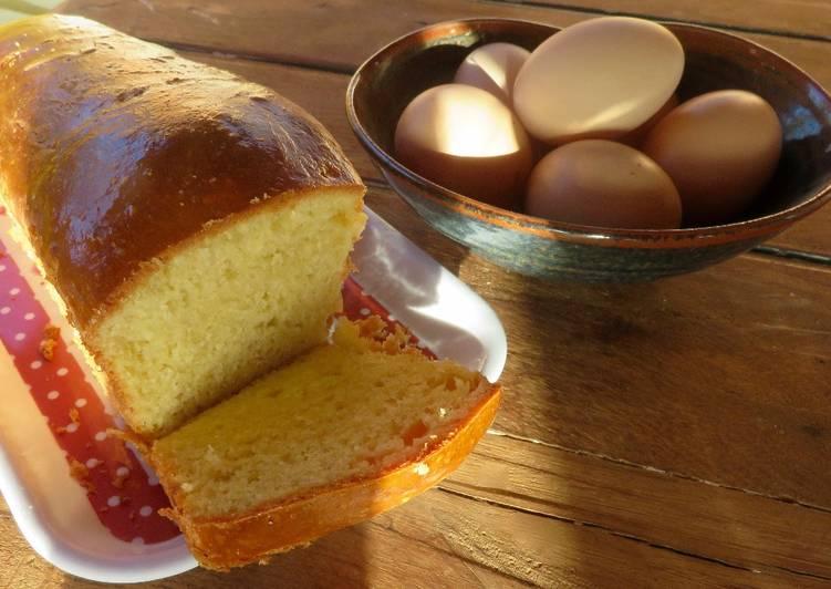 Brioche pure beurre au levain naturel
