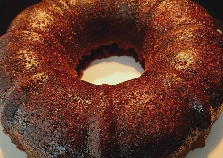 resep memasak Cake sarang semut atau cake caramel - Sajian Dapur Bunda