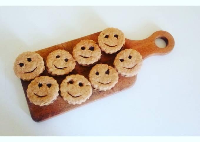 Des petits biscuits tout rigolos