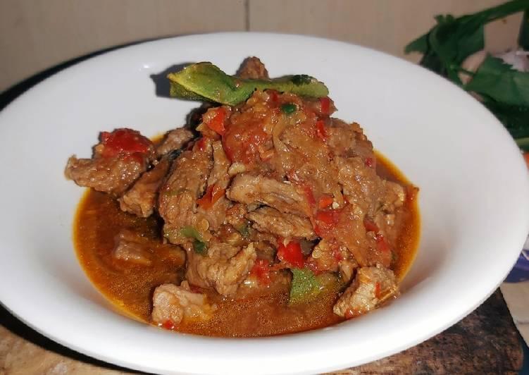 Daging Sapi GaroRica khas Gorontalo