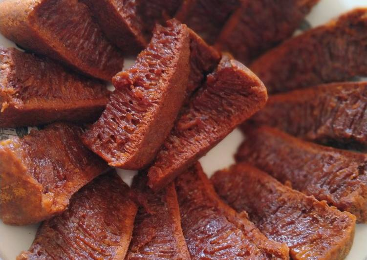 resep bikin Bolu karamel megicom - Sajian Dapur Bunda