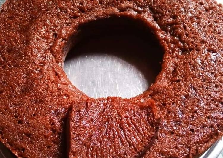 cara membuat 2. Bolu karamel/sarang semut - Sajian Dapur Bunda