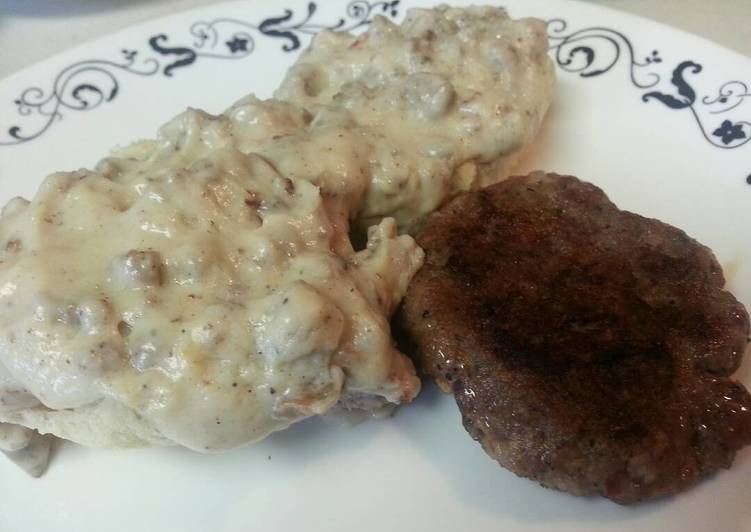 Appalachian Sausage Gravy for biscuits