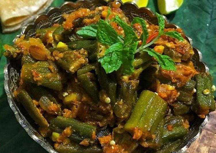 Steps to Prepare Speedy Spicy Tawa Bhindi