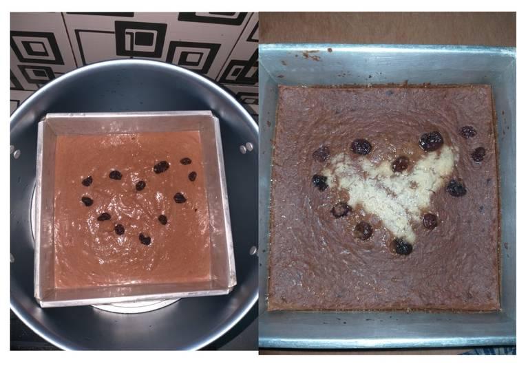 BROWNIES PUDING/Kue DIET (cemilan SEHAT)
