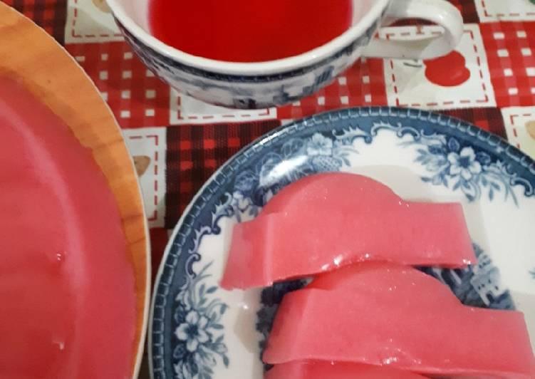 Agar Santan Nutrijel Strawberry Feat Fanta