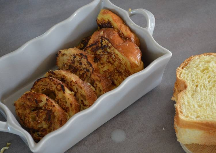 Recipe: Yummy Pain/brioche perdu