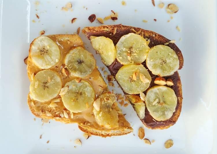 Recipe: Tasty Banana Toasts