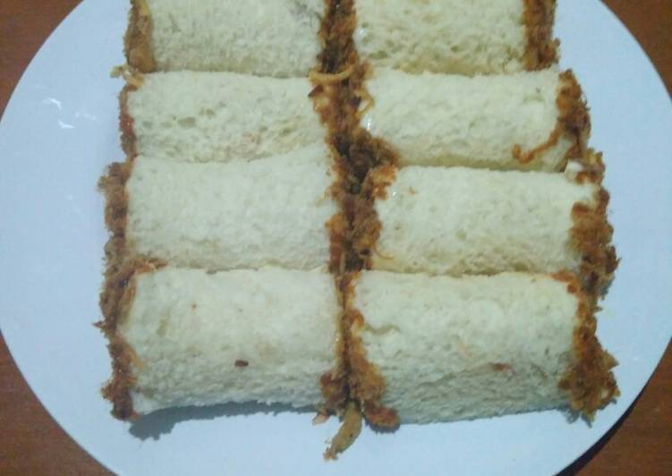 Meat Floss Bread ala2