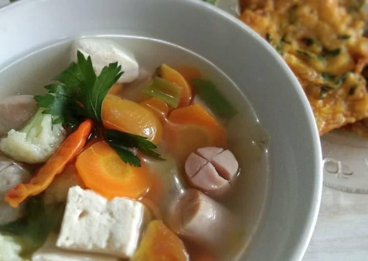 Sop Sayur Simple