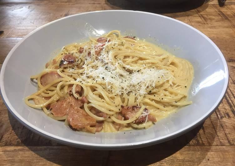 Recipe: Perfect Quick Carbonara