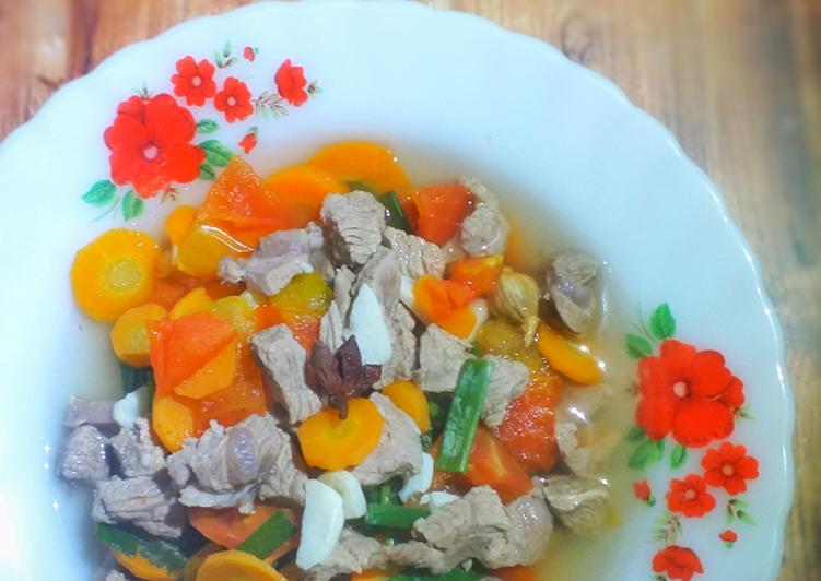 Sup Bening Daging Kambing #245¹⁰