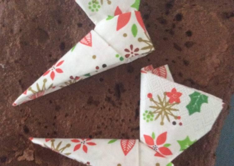 Gâteau au chocolat pour Noël