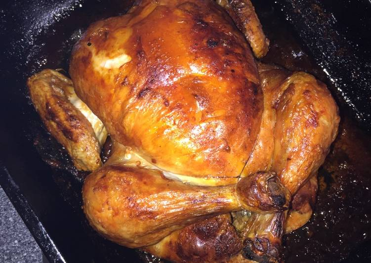 Simple Whole Roast Chicken