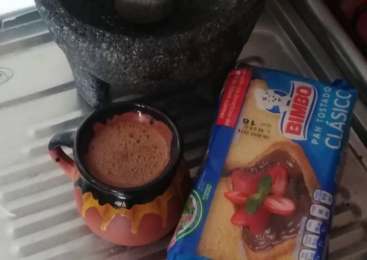 Leche Con Chocolate Abuelita Receta De Maryss Caldeeron