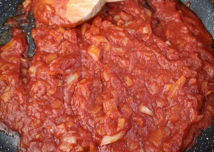 Recette: Délicieux Sauce tomate d'accompagnement(🇸🇳 ou 🇵🇹)