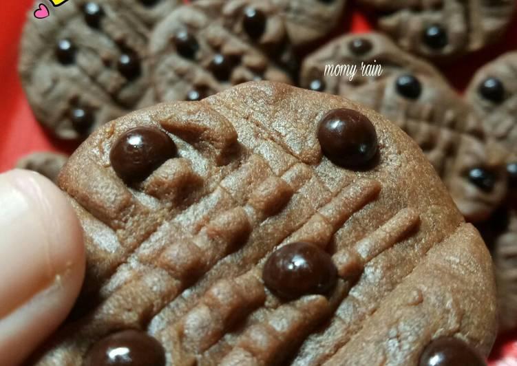Cookies chocochips Teflon