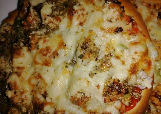 Recipe: Yummy Mini pizza recipe in my style