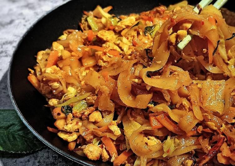 Resep Kwetiaw Goreng Sayuran, Enak