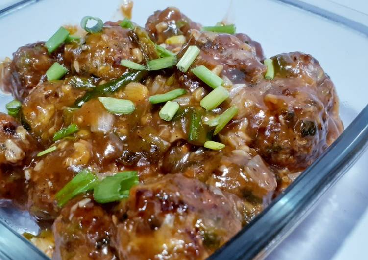 15 Minute How to Prepare Diet Perfect Veg dry Manchurian