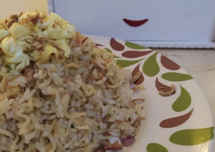 Mie Nasi (MiNas) Goreng Rawit
