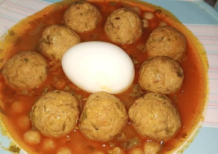 لاہوری کوفتہ چنے