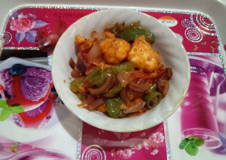 Easiest Way to Prepare Perfect Cheese chilli